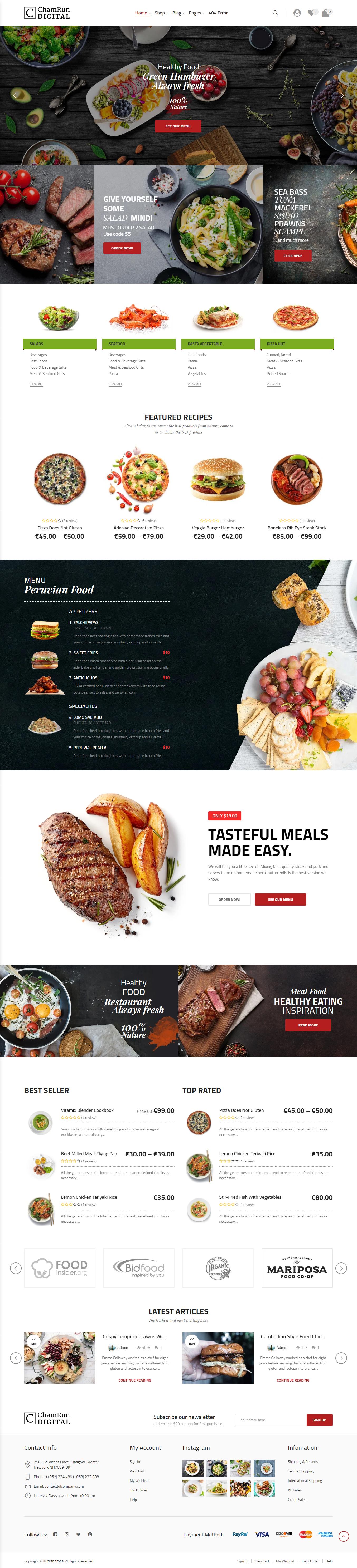 Chamwebdesign-food4