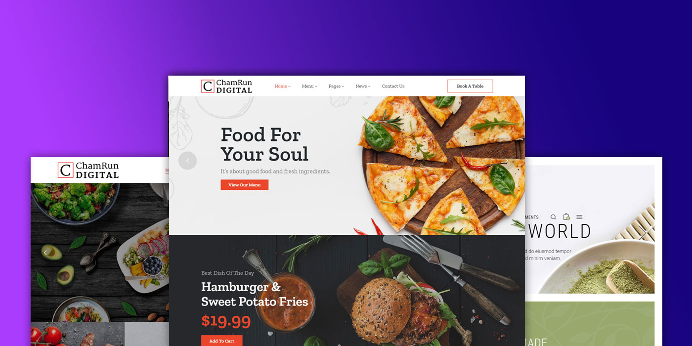 Chamwebdesign-food